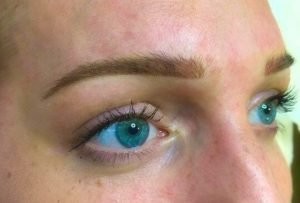 Tracie Giles eyebrows microblading London