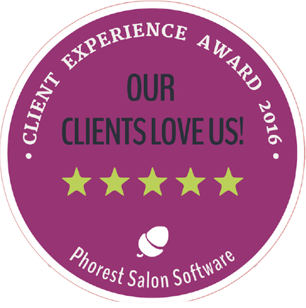 Permanent Makeup in London Client Experience Award Logo