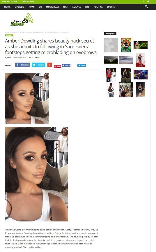 Amber Dowding Brows