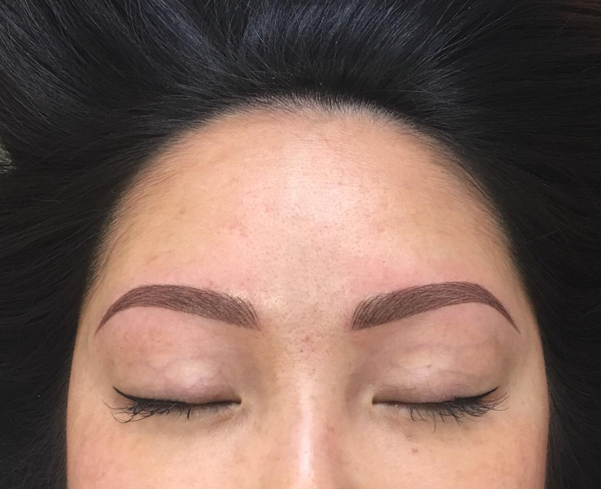 Permanent Eyebrow Treatment