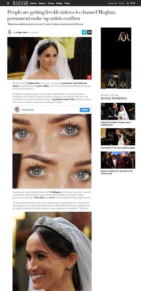 Harpers Bazaar Permanent Makeup