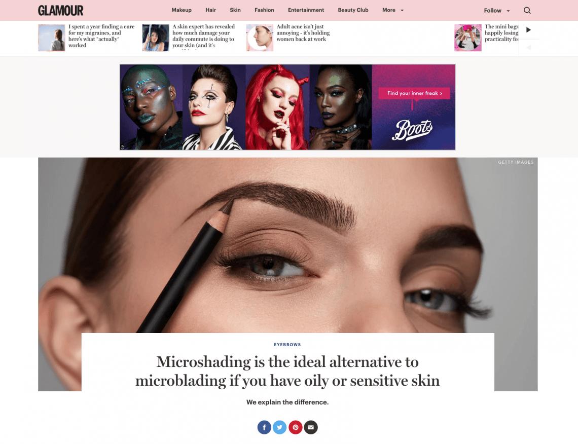 Glamour Eyebrows