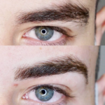 Eyebrow Tattoo Men
