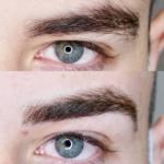 Eyebrow Tattoo Men
