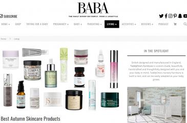 My Baba Crème Rescue Press Coverage