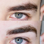 Male Eyebrow Tattoo